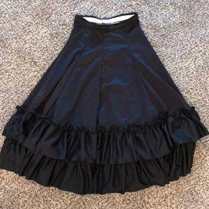 Dresses & Skirts - Black Flamenco skirt child m or adult xs
